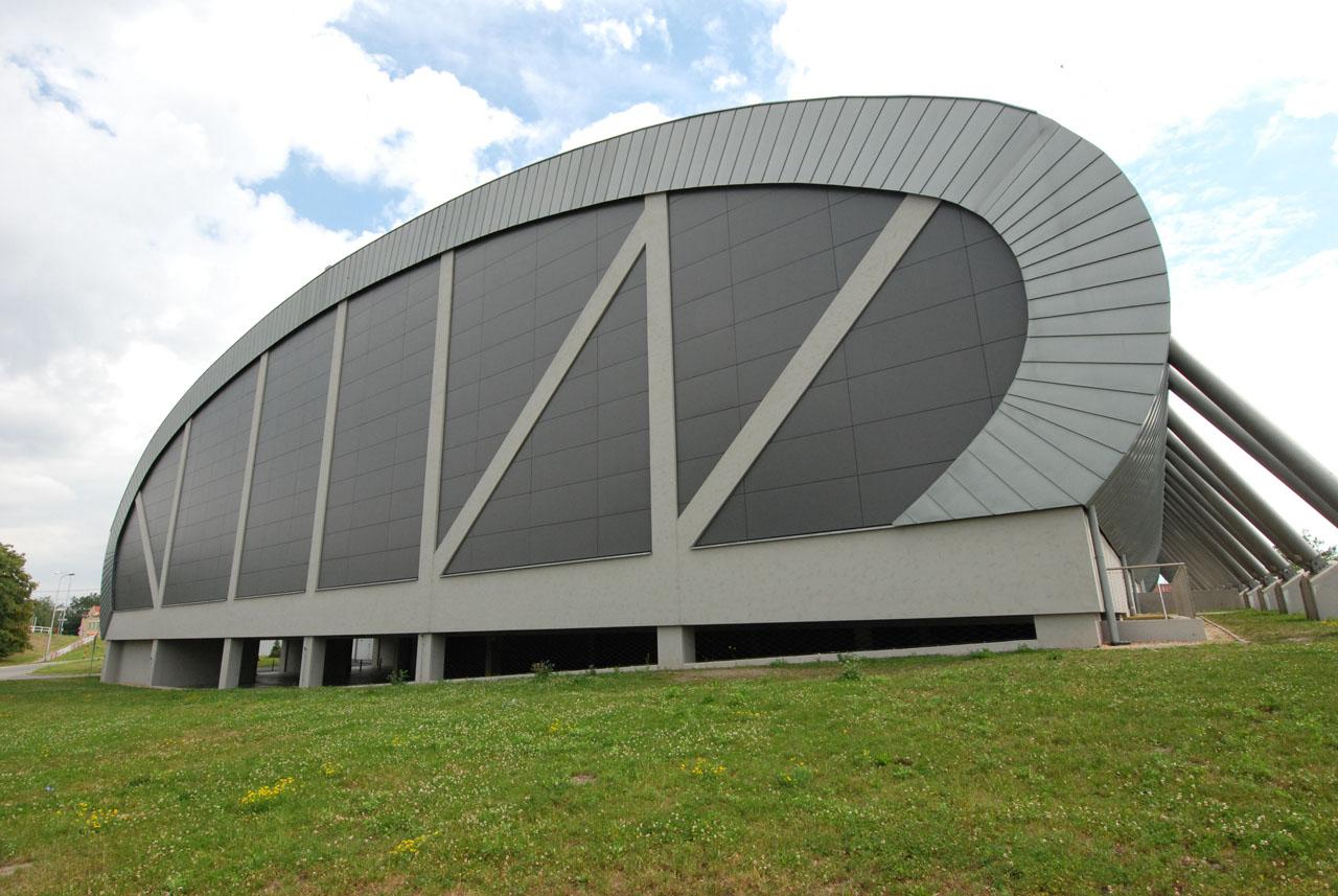 Atletická hala v Ostravě - Vítkovicích