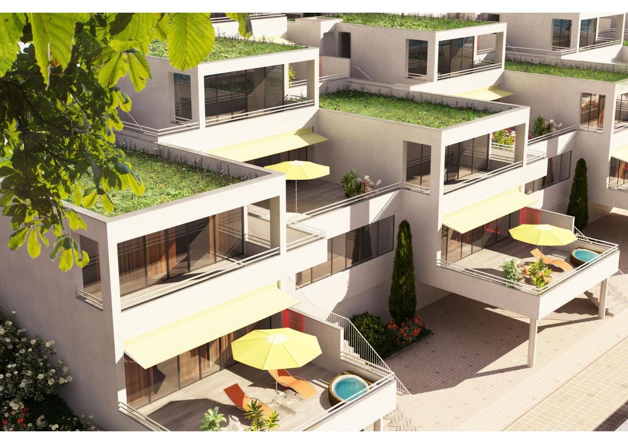 Hotel Costabella / vilová část komplexu
