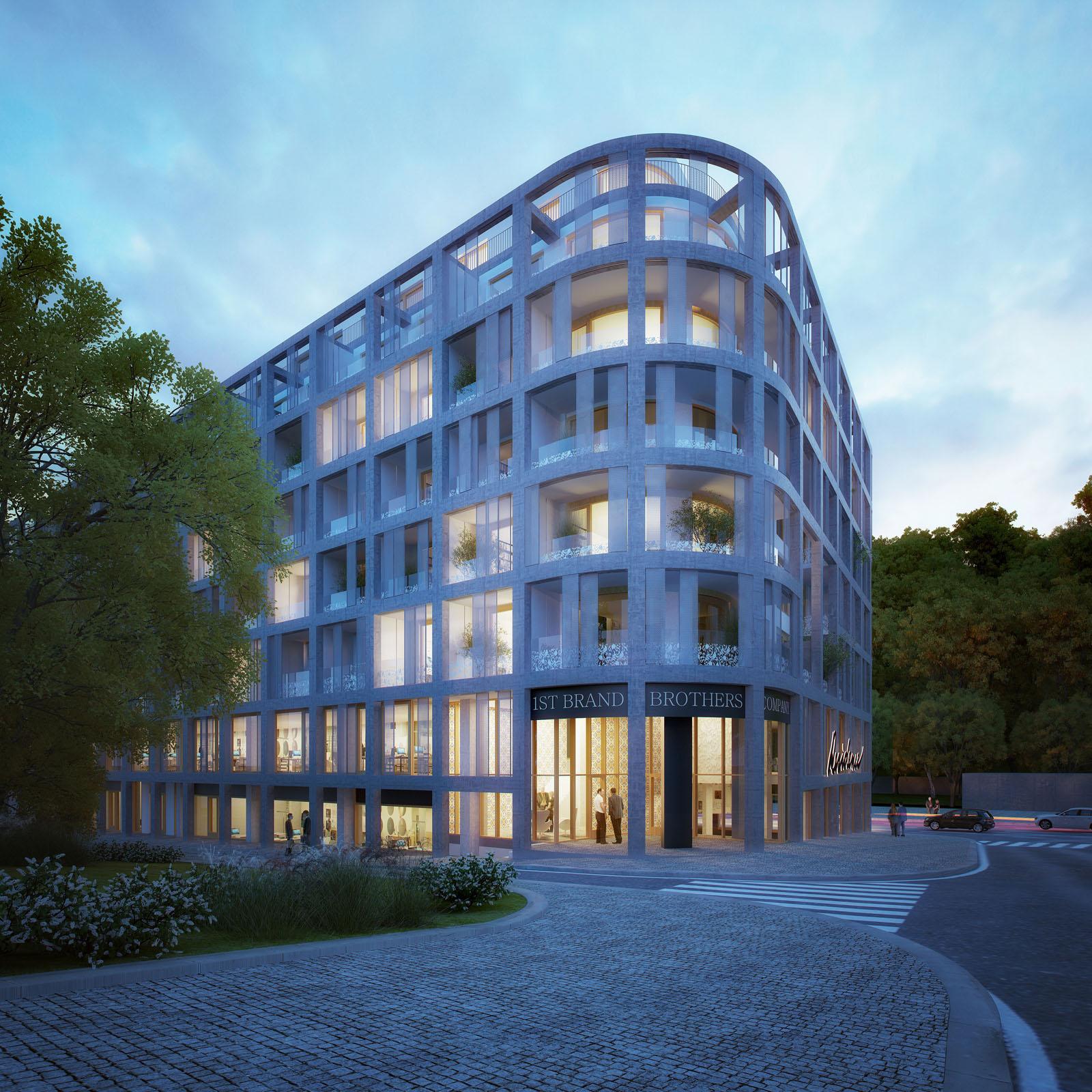 A.LT Architekti-bytový dům Práchnerova