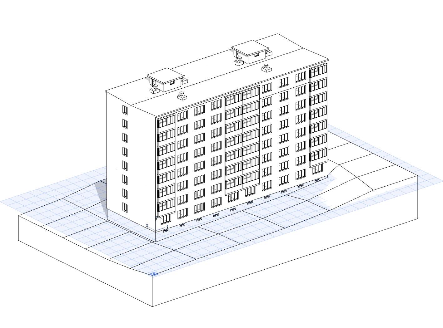 BIM-Pasportizace-3D/BIM model