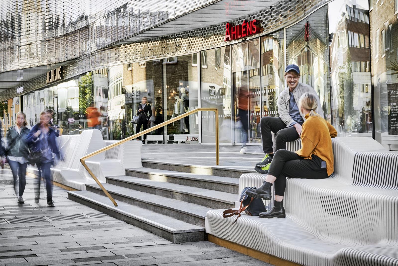 Uppsala - 3D lavička