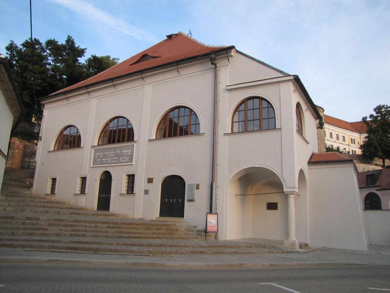 Jan Soukup - synagoga Mikulov