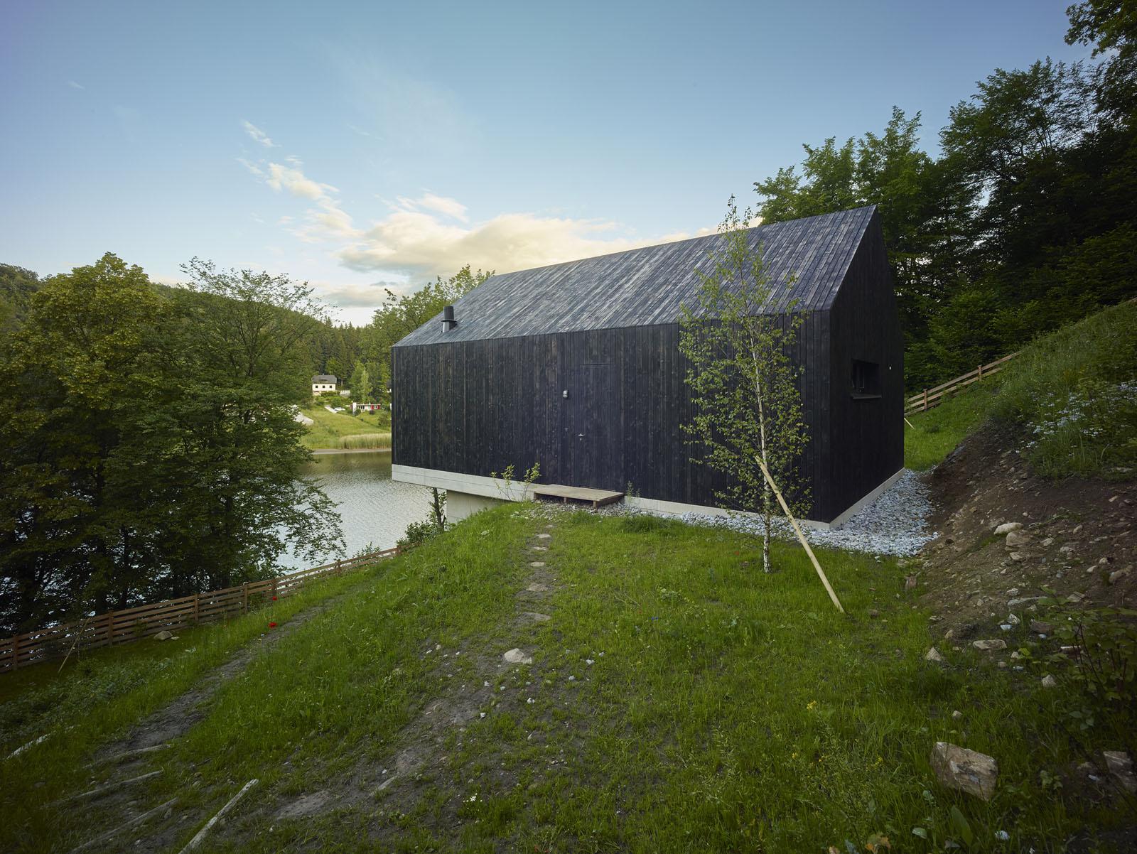 Backraum Architektur - Dům u jezera Thurnberg