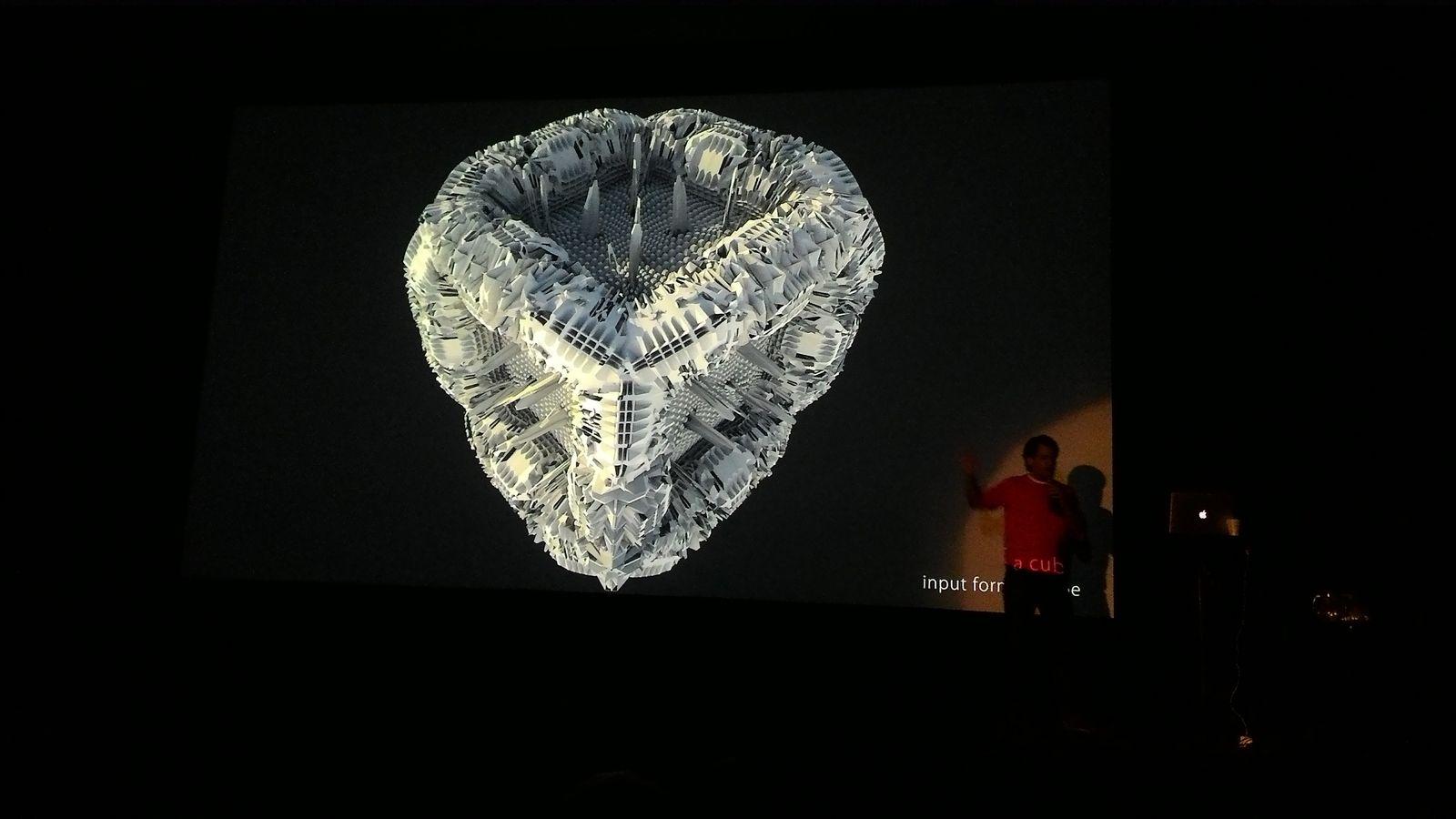 Michael Hansmeyer/Prezentace výpočetní architektury Michaela Hansmeyera
