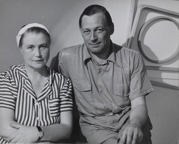 Aino a Alvar Aaltoviv Showrromu Artek v New Yorku roku 1940