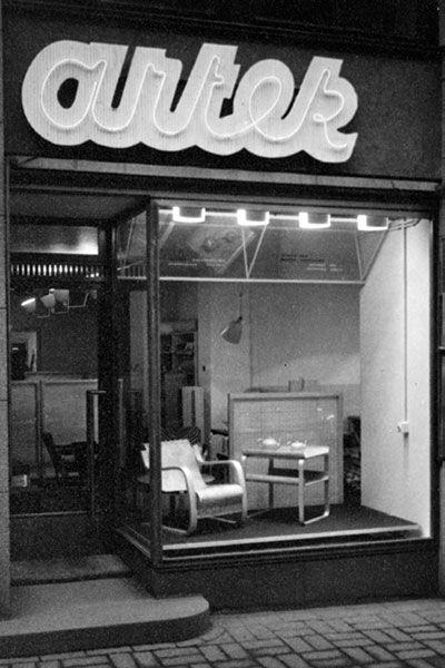 Obchod Artek v Helsinkách 1940
