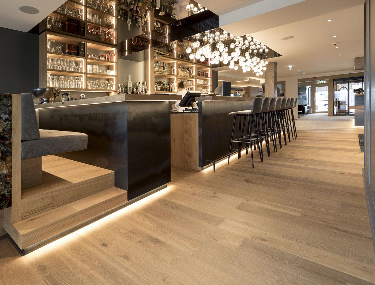 Hotelový bar Naturhotelu Edelweiss Wagrain