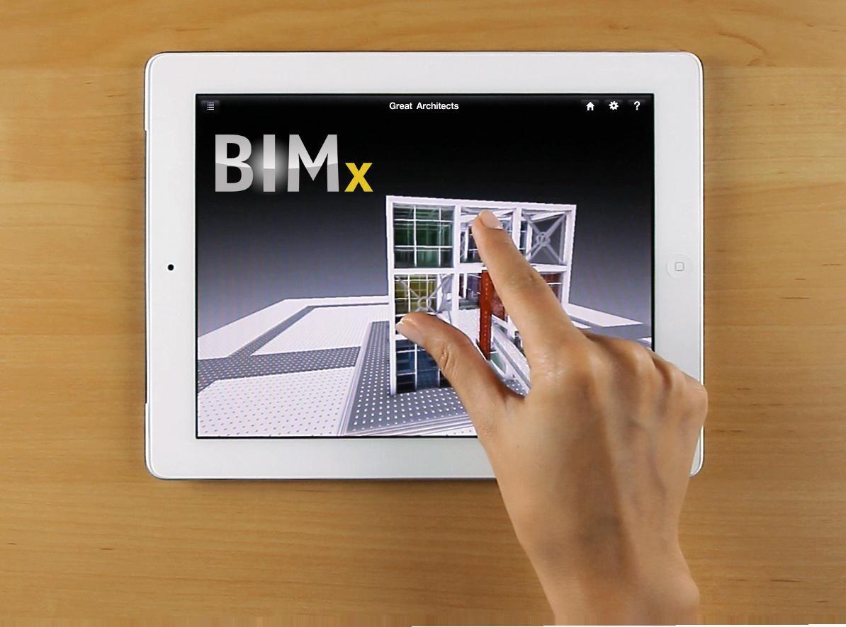 BIMx je aplikace určená především pro mobilní zařízení