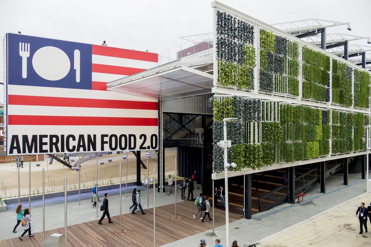 EXPO 2015, Pavilon USA - foto © Saverio Lombardi Vallauri