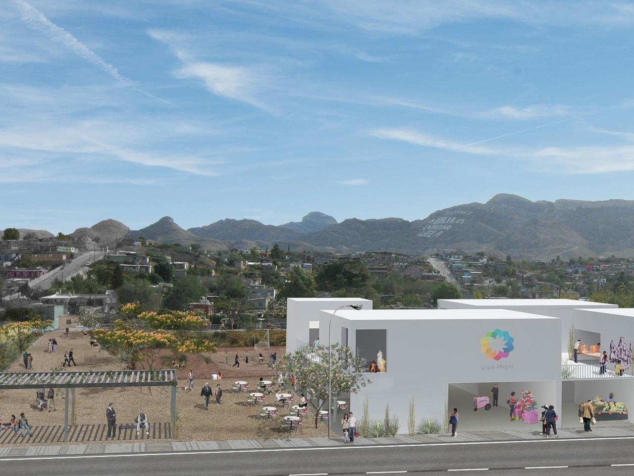 Návrh územních změn v Ciudad Juárez, arquitectura 911sc, foto © Holcim Awards
