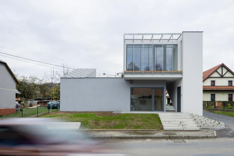 Ateliérový dům v Ratiboři, studio OBJEKTOR © Tomáš Souček