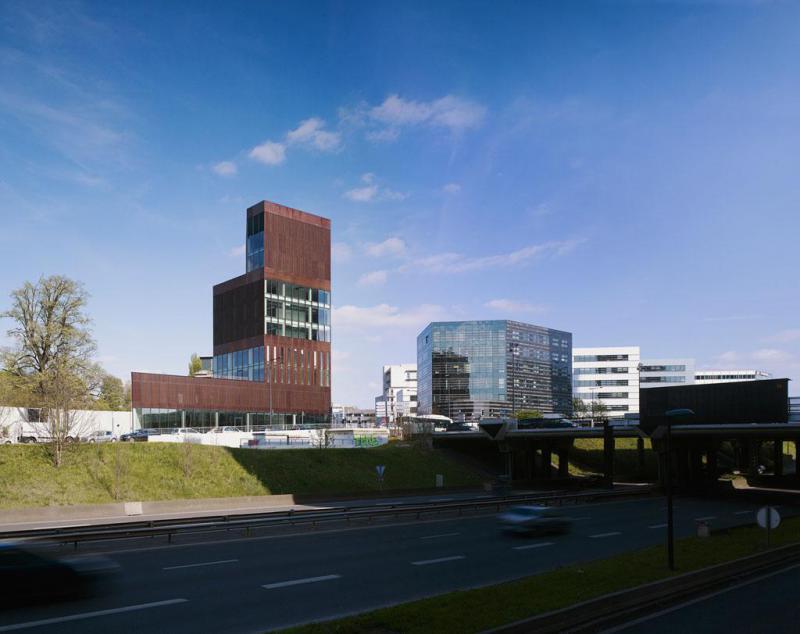 LAN, Euravenir Tower, Lille - foto © Julien Lanoo