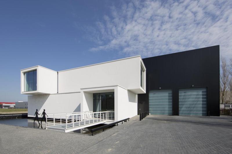 Modulární kanceláře Sanibell, foto © P. Kamp (RoosRos Architects)