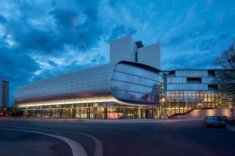 Gabriele Glöckler, ZSP Architekten - rozšíření Německé národní knihovny, Lipsko - foto exteriéru © Klaus-D. Sonntag, Leipzig/© SIB, Leipzig/DNB Leipzig
