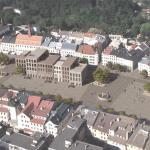 Revitalizace Masarykova náměstí v Jihlavě, axonometrický nadhled, MCA atelier, s.r.o.