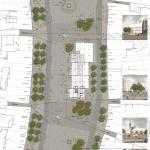 Revitalizace Masarykova náměstí v Jihlavě, situace, MCA atelier, s.r.o.