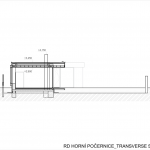 Ateliér Kunc Architects, RD Horní Počernice, příčný řez - foto © archiv autorů