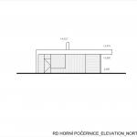 Ateliér Kunc Architects, RD Horní Počernice, pohled severozápadní - foto © archiv autorů