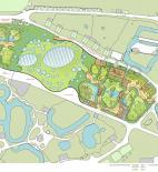 AND - Návrh na pavilon Amazonie pražské Zoo - situace - © AND - Architektonický ateliér