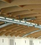 Atelier 8000 - Pavilon T - Větve z kruhového spira potrubí ∅ 1 000 mm - foto © Atelier 8000