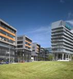 AHK architekti, City West, budova Siemens a Vodafone - zdroj fotografií © AHK architekti