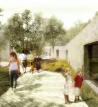 Echorost architekti - Návrh na pavilon Amazonie pražské Zoo - Venkovní prostory - © Echorost architekti