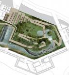Echorost architekti - Návrh na pavilon Amazonie pražské Zoo - půdorys 1. podlaží - © Echorost architekti
