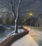 Rusina Frei architekti – Nábřeží Loučné v Litomyšli, nábřeží v noci // 1. místo – foto © archiv autorů