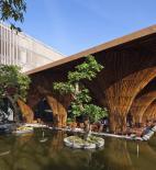 Vo Trong Nghia Architects - Vo Trong Nghia - Kontum Indochine Café - foto © Hiroyuki Oki