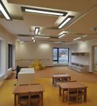 Projektový ateliér DAVID s.r.o. - Mateřská škola v Raspenavě - foto interiéru © Jan Čížek