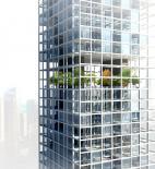 Mobile cubes - Architecture school tower - Dubai - soutěž AC-CA - čestné uznání - Marta Komorowska, Bartosz Koszalka - Polsko - vizualizace exteriéru
