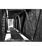 Soutěž O Cenu Bohuslava Fuchse, vítězný projekt, Jaroslav Matoušek, Most přes Dyji - model © Jaroslav Matoušek