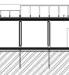 CUBESPACE s.r.o. - modulární MŠ Březiněves - řez © Cubespace s.r.o.