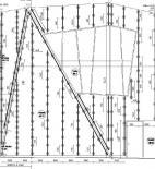 Gnädinger Architekten - Muzeum historické střelby, Duderstadt - fasáda - konstrukční schéma