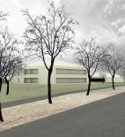 Architektonická soutěž Nová škola Chýně, odměněný návrh: atelier SLLA - vizualizace © atelier SLLA