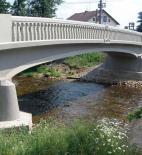 Obr. 7 Boční pohled na most