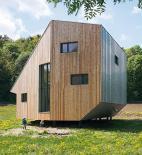 Oximoron - Pasívny drevoslamený dom - celkový pohled - foto © Pavel Meluš