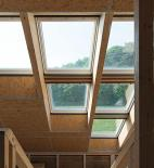 Oximoron - Pasívny drevoslamený dom - interiér - foto © Pavel Meluš