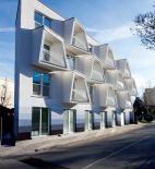 Nice architects - polyfunkční bytový dům Polárka - foto exteriéru © Tomáš Manina