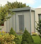 CUBESPACE s.r.o. - Ondřej Otýpka - modulární rodinný dům Letňany - foto exteriéru © Cubespace s.r.o.