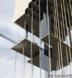 Tower Tower - Architecture school tower - Dubai - soutěž AC-CA - čestné uznání - Jerome Chiarodo, Regis Maillet, Julien Gougeat, Laure Besson - Francie - vizualizace exteriéru