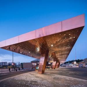 JKMM Architects, Dopravní centrum Lahti - foto © Mika Huisman